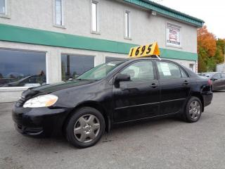 Used 2005 Toyota Corolla 4dr Sdn CE Manual for sale in St-Jérôme, QC