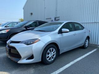 Used 2018 Toyota Corolla CE-ONE OWNER BOUGHT AND SERVICED HERE! for sale in Cobourg, ON