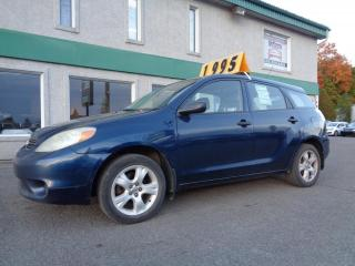 Used 2007 Toyota Matrix Familiale 5 portes, boîte manuelle, STD for sale in St-Jérôme, QC