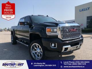 Used 2018 GMC Sierra 3500 HD Denali|Leather|HTD&Cooled seats|Navi|Sunroof|Lift for sale in Leamington, ON