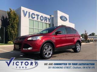 Used 2013 Ford Escape SEL| NAV| PANO ROOF| HEATED SEATS for sale in Chatham, ON