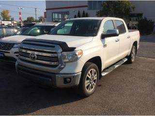 Used 2017 Toyota Tundra Platinum 5.7L V8 for sale in Sarnia, ON