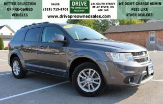 Used 2015 Dodge Journey SXT Bluetooth Cruise Control Seven Passenger FWD for sale in Belle River, ON