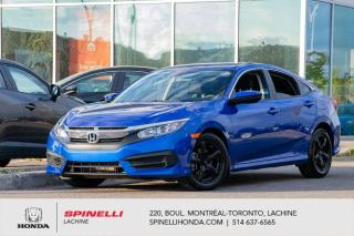Used 2017 Honda Civic LX AUTO MAGS TRES BAS KM AC*AUTO*CAMERA*BLUETOOTH*CRUISE*SIEGES CHAUFFANTS*APPLE CAR PLAY *ANDROID AUTO*++ for sale in Lachine, QC