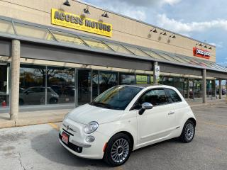 Used 2013 Fiat 500 2dr HB Lounge for sale in North York, ON