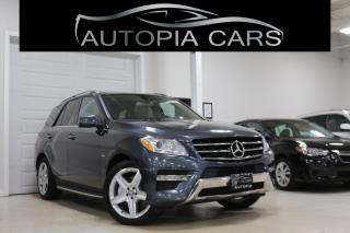 Used 2012 Mercedes-Benz ML-Class 4MATIC 4dr ML 350 BlueTEC for sale in North York, ON