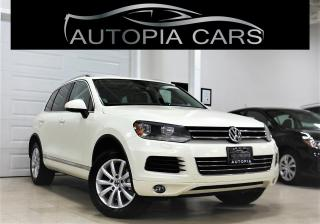 Used 2011 Volkswagen Touareg TDI COMFORTLINE NAVIGATION PANORAMICSUNROOF for sale in North York, ON