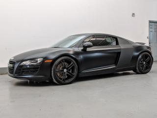 Used 2009 Audi R8 V8/RARE 6 SPEED MANUAL/SUEDE SEATS/BANG & OULFSEN SOUND! for sale in Toronto, ON