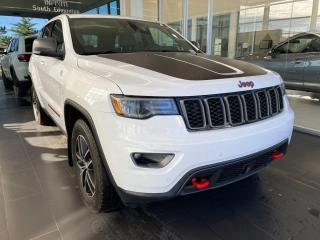 Used 2018 Jeep Grand Cherokee Trailhawk 4x4, ACCIDENT FREE, SKYROOF, POWER HEATED/VENTED LEATHER SEATS, HEATED STEERING WHEEL for sale in Edmonton, AB