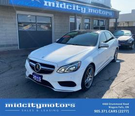 Used 2015 Mercedes-Benz E-Class E550 4MATIC/ V8 TURBO/ FULLY LOADED/ NO ACCIDENTS for sale in Niagara Falls, ON