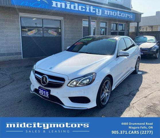 2015 Mercedes-Benz E-Class E550 4MATIC/ V8 TURBO/ FULLY LOADED/ NO ACCIDENTS