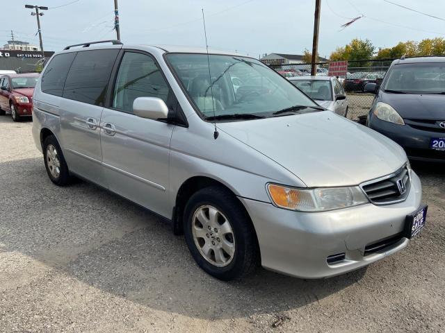 2004 Honda Odyssey EX-L RES, LEATHER, DVD, 3 YR WARRANTY, CERTIFIED