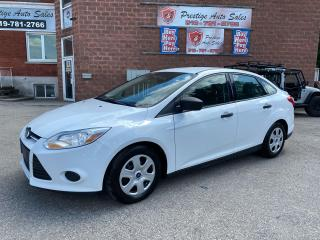 Used 2014 Ford Focus S/2L/SPEED/ONE OWNER/NO ACCIDENT/SAFETY+WARRANTY for sale in Cambridge, ON