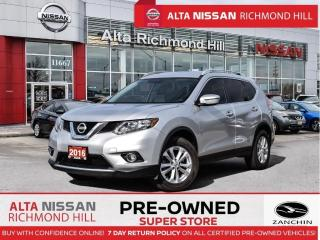 Used 2016 Nissan Rogue SV   PWR Seats   Heated Seats   Fogs   17 Alloy for sale in Richmond Hill, ON