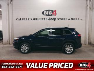 Used 2016 Jeep Cherokee Limited 4WD for sale in Calgary, AB