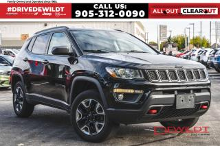 Used 2017 Jeep Compass TRAILHAWK | LEATHER | NAVIGATION | 4X4 | for sale in Hamilton, ON
