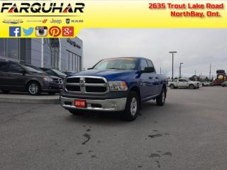Used 2018 RAM 1500 ST -  Uconnect - $201 B/W for sale in North Bay, ON