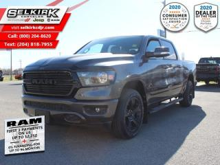New 2020 RAM 1500 Big Horn - HEMI V8 - Night Edition for sale in Selkirk, MB