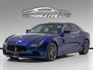 Used 2015 Maserati Ghibli S Q4 AWD, Red Interior, 21' Rims, 404 Horsepower, Navi,Cam, for sale in Concord, ON