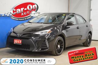 Used 2017 Toyota Corolla SE SUNROOF LEATHER TRIM for sale in Ottawa, ON