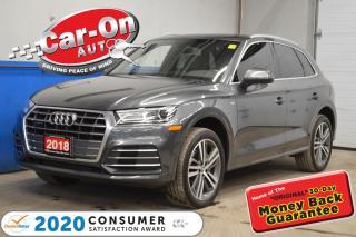 Used 2018 Audi Q5 PROGRESSIV S-LINE | CONV PKG for sale in Ottawa, ON