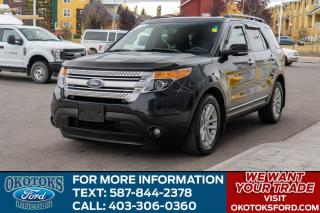 Used 2012 Ford Explorer XLT LEATHER/BLIS/NAVIGATION/DUAL PANEL MOONROOF/PWR LIFT GATE for sale in Okotoks, AB