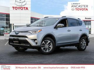 Used 2018 Toyota RAV4 Hybrid LE+ for sale in Ancaster, ON