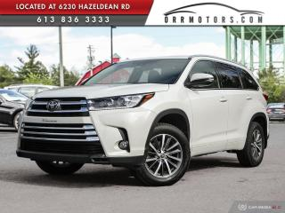 Used 2017 Toyota Highlander XLE 7 PASSENGER | AWD | NAV | REVERSE CAM | HEATED SEATS for sale in Stittsville, ON