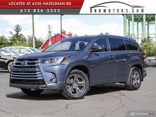 Used 2019 Toyota Highlander Limited 7 PASSENGER | AWD | NAV | REVERSE CAM | HEATED LEATHER for sale in Stittsville, ON