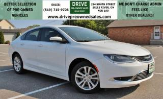 Used 2015 Chrysler 200 Limited Low K's Heated Seats Bluetooth Backup Cam for sale in Belle River, ON