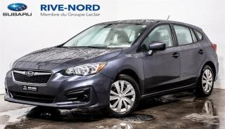 Used 2017 Subaru Impreza Convenience BLUETOOTH+CAM.RECUL+APPLE.CARPLAY for sale in Boisbriand, QC