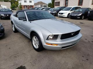 Used 2007 Ford Mustang **CONVERTIBLE*CLEAN CARFAX** for sale in Hamilton, ON