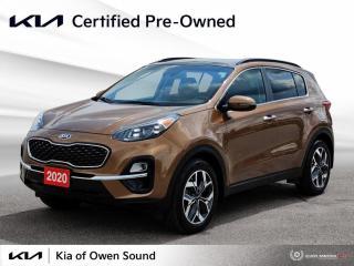 Used 2020 Kia Sportage EX Tech for sale in Owen Sound, ON