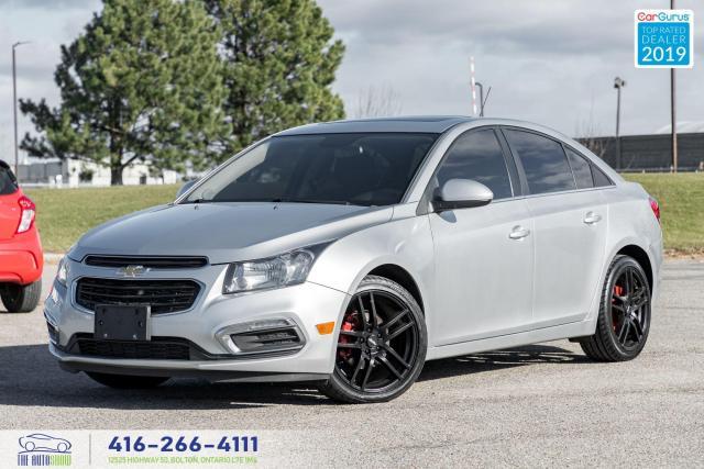 2016 Chevrolet Cruze LT|Roof|Back up cam|Clean Carfax|Remote Starter|