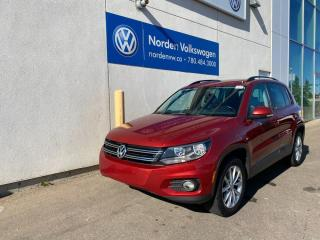 Used 2013 Volkswagen Tiguan COMFORTLINE 4MOTION AWD - LEATHER / SUNROOF for sale in Edmonton, AB