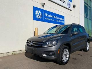 Used 2012 Volkswagen Tiguan COMFORTLINE 4MOTION AWD - LEATHER / SUNROOF for sale in Edmonton, AB