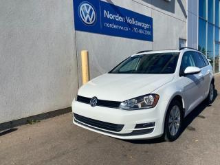 Used 2015 Volkswagen Golf Sportwagon 1.8 TSI COMFORTLINE W/ CONVENIENCE PKG - VW CERTIFIED for sale in Edmonton, AB