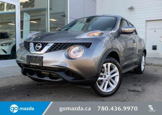 Used 2015 Nissan Juke SV - AWD. CLOTH, HEATED SEATS, BLUETOOTH, AND MUCH MORE! for sale in Edmonton, AB
