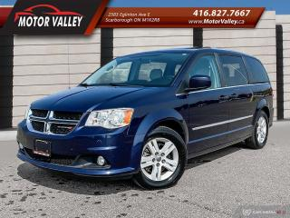 Used 2012 Dodge Grand Caravan Crew Plus NAVIGATION - SUNROOF - LEATHER LOADED! for sale in Scarborough, ON