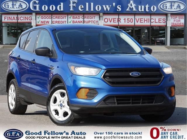 2018 Ford Escape S MODEL, 2.5 LITER, RAERVIEW CAMERA