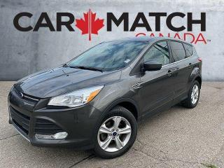 Used 2015 Ford Escape SE / NO ACCIDENTS / ALLOY WHEELS for sale in Cambridge, ON