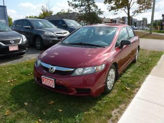 Used 2009 Honda Civic DX for sale in Kitchener, ON