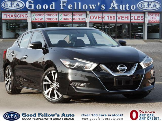 2017 Nissan Maxima SV MODEL, POWER SEATS, PARKING ASSIST, NAVIGATION