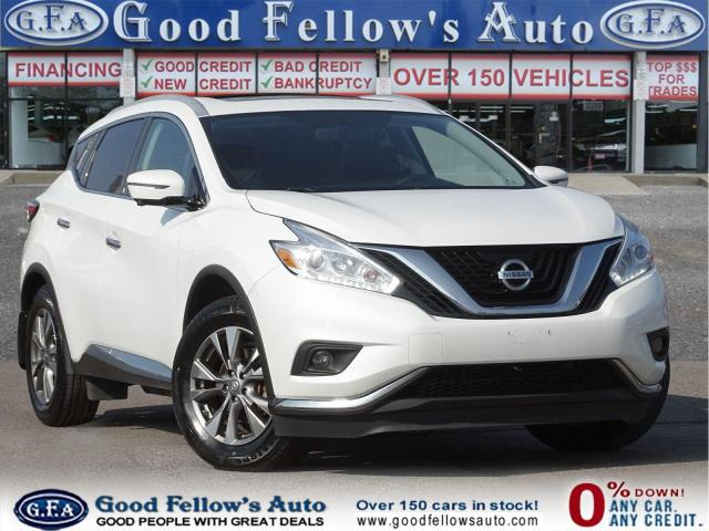 2016 Nissan Murano SL MODEL, AWD, REARVIEW CAMERA, LEATHER SEATS, PAN