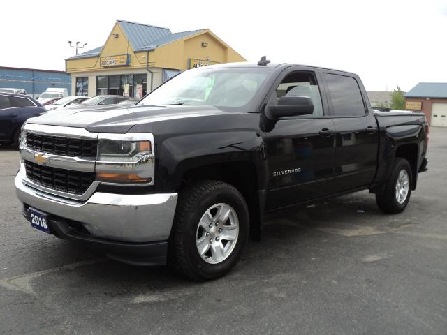 2018 Chevrolet Silverado 1500 LT CrewCab 4x4  4.3L 5.5ft Box BackUpCam