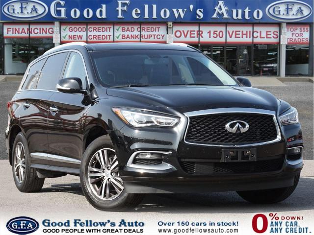 2016 Infiniti QX60 AWD,7 PASS, 360°CAMERA, PARKING ASSIST, NAVIGATION