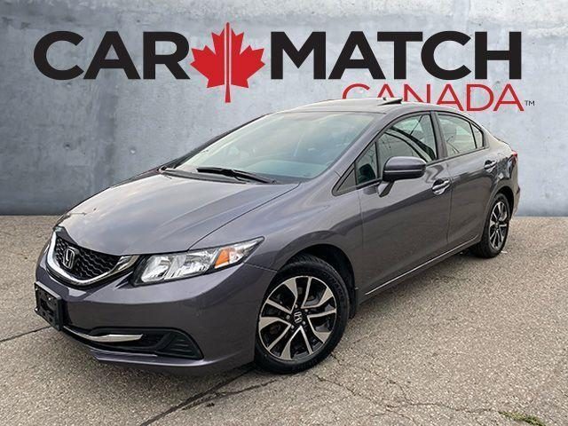 2014 Honda Civic EX / AUTO / SUNROOF / 88,716 KM