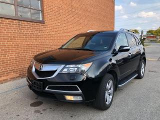Used 2013 Acura MDX Tech Pkg NAV / DVD /AWD /7 PASSENGERS/ONE OWNER for sale in Oakville, ON