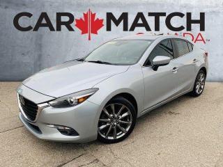 Used 2018 Mazda MAZDA3 GT / NAV / LEATHER /  88597 KM for sale in Cambridge, ON