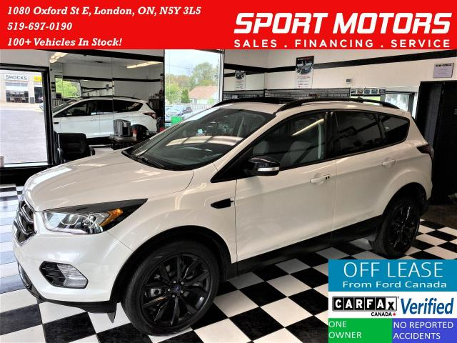 2017 Ford Escape Titanium AWD+Roof+BSM+GPS+Apple Play+ACCIDENT FREE